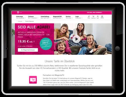 Breitband Internet Anbieter Telekom