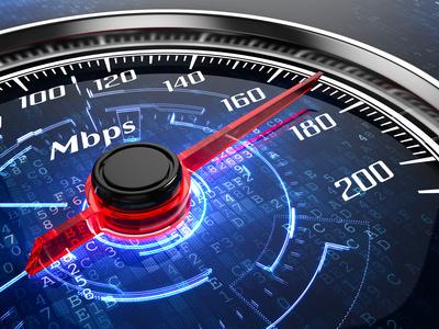 Breitband Internet Geschwindigkeit