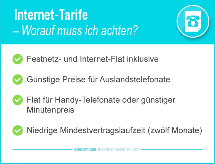 Günstige Internetanbieter